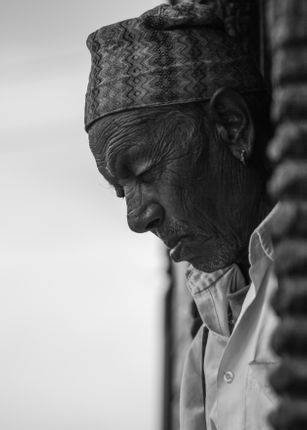 Black,and,White,Photo,of,an,old,man