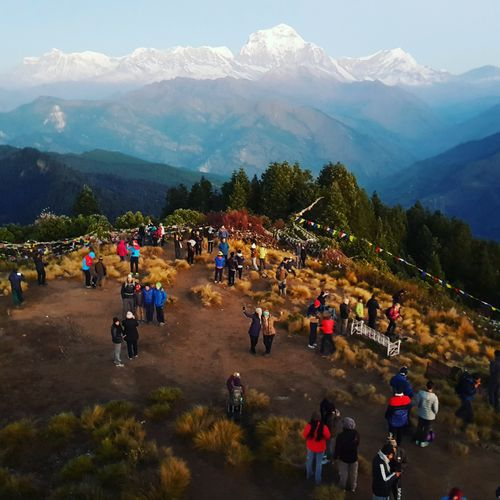 Beautiful,poonhill,situated,in,myagdi,district,of,nepal,.