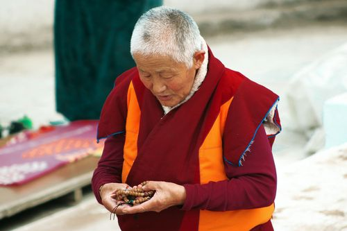 The,monk,women,at,baudha,nepal