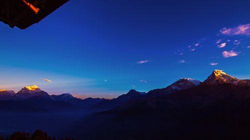 mount,annapurna,south,range,morning,sun,rays,poomhill,nepal