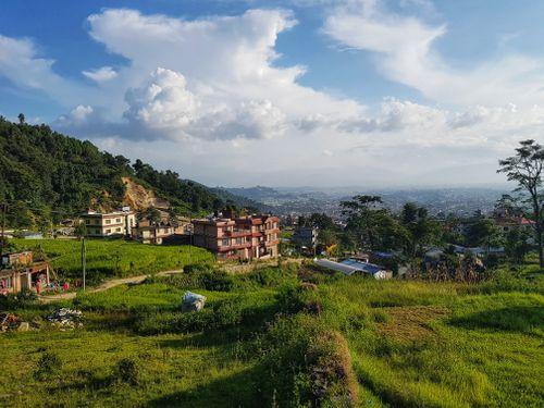 landscape,budhanilkantha