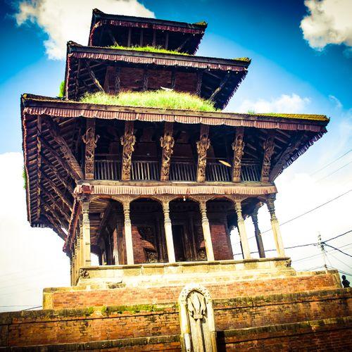beautiful,temple,top