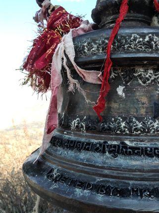 temple,bell,muktinath
