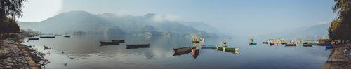 panorama,view,fewa,lake