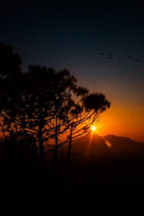 sunset,view,kathmandu