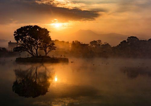 beautiful,sunrise,taudaha