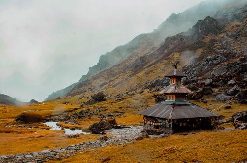 hrs,walked,finally,panchpokhari,temple,nepal