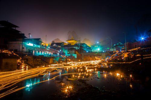 devotees,release,oil,lamps,bagmati,river,remembering,deceased,family,member,balachaturdasi,festival,pashupati,temple,kathmandu,nepal,people,gather,light,disperse,satabij,mixture,grains,belief,departed,souls,discover,peace,heaven,families,sow,satbeej,hundred,seeds,lights,praying,eternal,day,bala,chaturdashi,hindu,mythology,one's,ancestors,place,sown,shrines,related,lord,shiva,area,happiness,ensured,chairman,calendar,determination,committee,prof,ram,chandra,gautam,coming,places,country,throng,lit,mahadeep,stay,awake,night,mangsir,krishna,trayodashi,chanting,hymns,early,morning,taking,sacred,bath