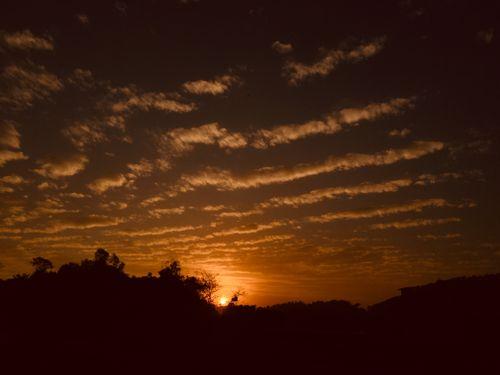 beautiful,sun,set,photo