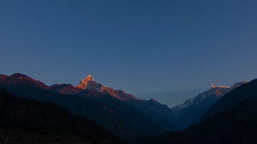 mount,fishtail,annapurna,range,photo,ghachok,pokhara,nepal