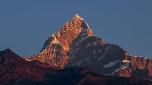 mount,fishtail,machhapuchhre,pokhara,nepal