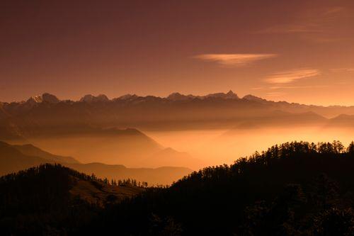 beautiful,view,kalinchowk,nepal