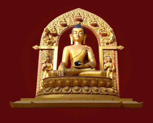 golden,buddha,statue,lalitpur,nepal,build,year,ago,monastery,area,visit,time,place