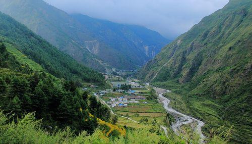 chilime,hydro,dam,rasuwa,nepal,tamang,trekking,trail