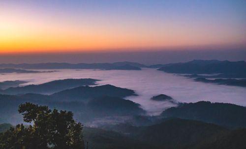 scene,terai,sunrise,nepal