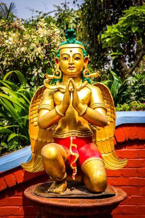 statue,manakamana