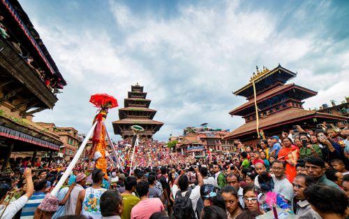 gai,jatra,festival,bhaktapur,fun,celebration,cow,remembering,people,died,year,feeling,nepal