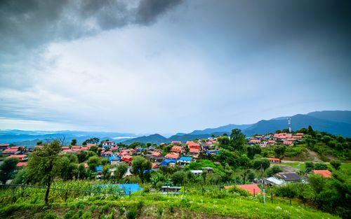beautiful,secenery,ghalegau,rain,lamjung,nepal