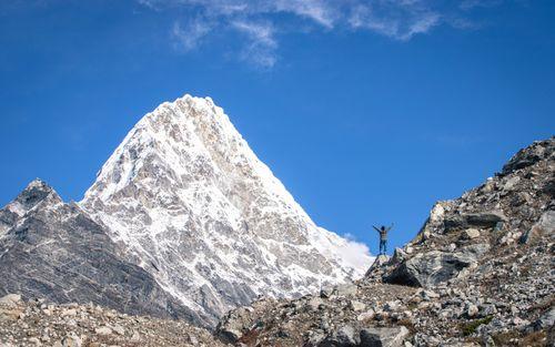 adventure,mount,kang,nachugo,tsho,rolpa,lake,dolakha,nepal