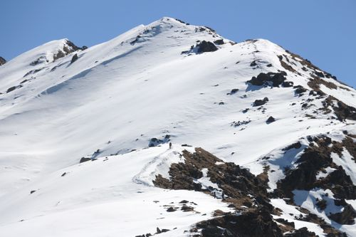 snowy,route,gosaikunda