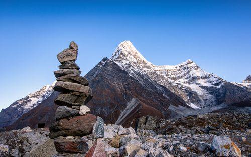 beautiful,view,mountain,range,tsho,rolpa,lake,dolakha,nepal