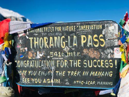 sign,board,thorang,la,pass