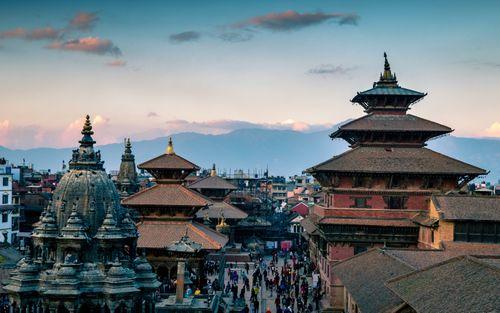 shining,pagoda,temple,patan,darbar,quare,lalitpur,nepal