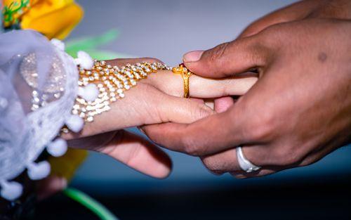 moment,christian,wedding,ceremony,kathmandu,nepal
