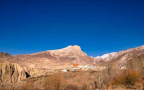 beautiful,view,village,lower,mustang,nepal