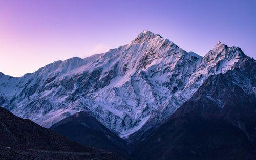 sunrise,mount,tilitso,himal,jomsom,mustang,nepal