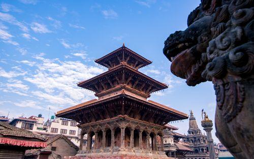 beautiful,temples,krisnamandi,patan,nepal