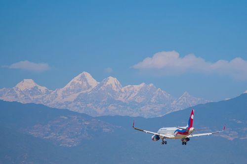 nepal,airlines,airbus,a320sagarmatha,approach,land,tribhuwan,international,airport