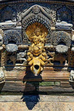 lalitpur,nepal,ritual,bathing,pool,sundari,chowk,hanuman,dhoka,royal,palace,patan,durbar,square,unesco,world,heritage,site,kathmandu,valley