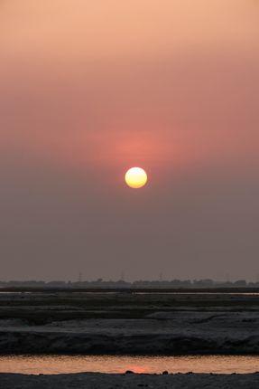 sunset,layer,foreground