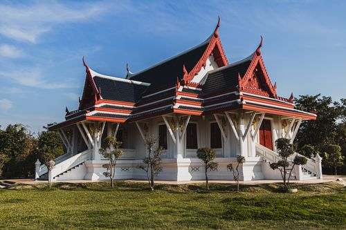 preserved,inside,gates,lumbini