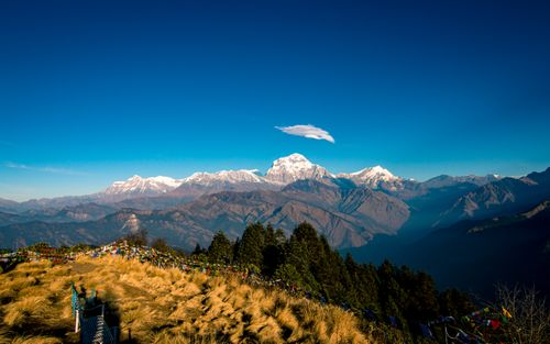 shining,mount,dhaulagiri,poonhill,myagdi,nepal