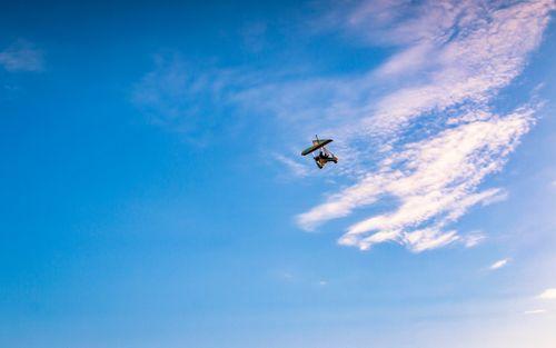 flying,ultralight,mountain,pokhara,nepal