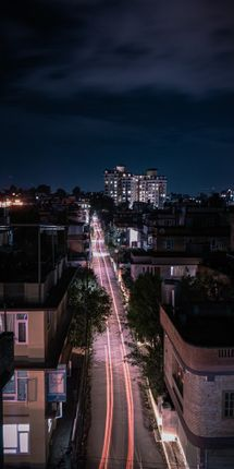 beautiful,light,trails,adds,flavor,streets
