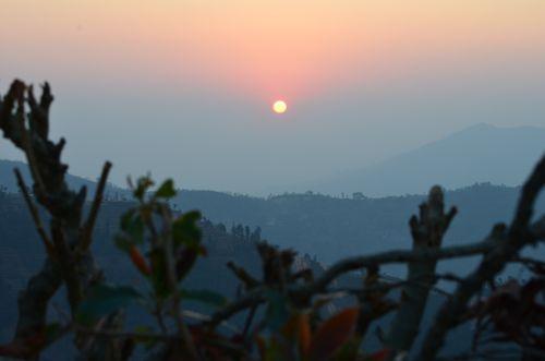 sunrising,manakamana,nepal