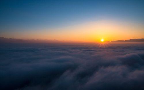 sunrise,view,kathmandu,valley,bosan,dada,nepal