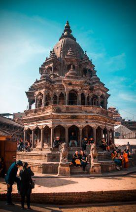 krishna,mandir,popular,place,lalitpur,nepal
