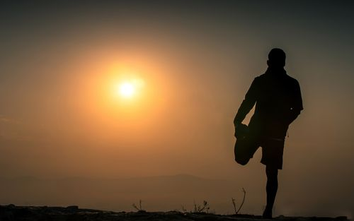 early,morning,yoga,exercise,sunrise,kathmandu,nepal