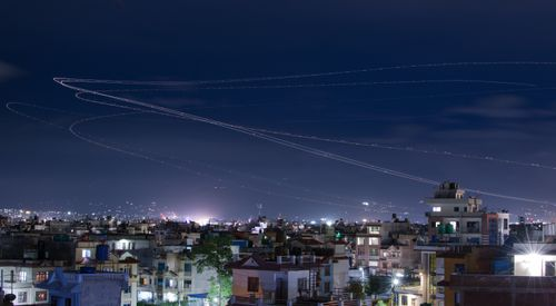 long,exposure,stacked,reveal,flight,path,airlines,takeoff,runway,tribhuvan,internation,airport