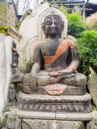 statue,buddha,bhaktapur,nepal