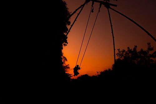 boy,swinging,dashain