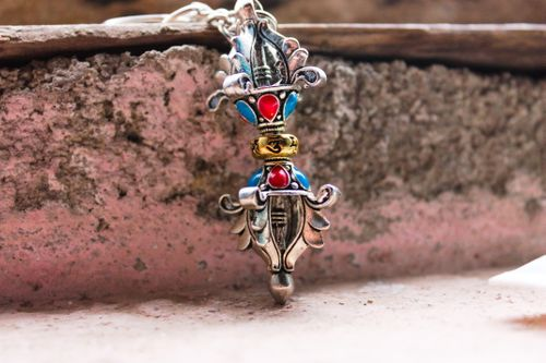 colourful,traditional,key,chain