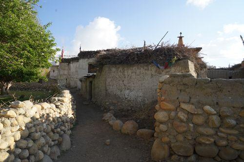street,tsharang,villageupper,mustang