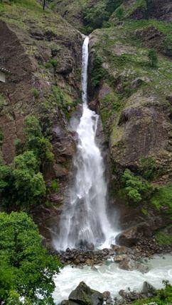 chyamche,water,fall,manang,lamjung
