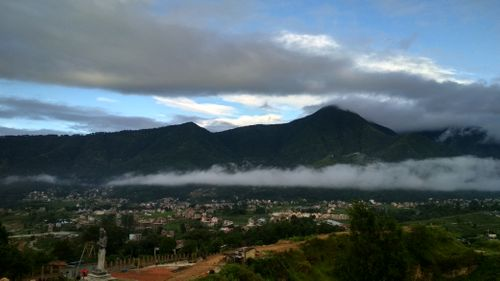 morning,view,champadevi,hill,foothill,chobhar