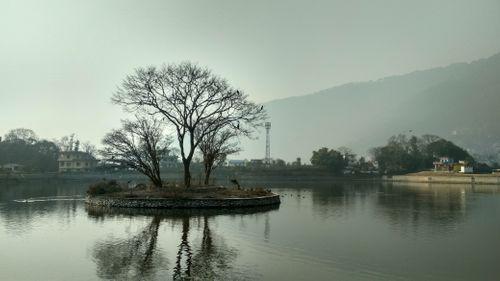 beautiful,taudaha,lake,kitripur
